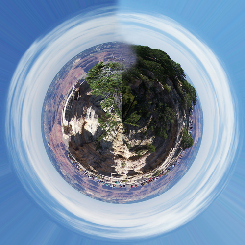 Grand Canyon South Rim Globe Panorama