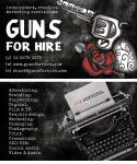 Business Card Design: Guns For Hire. (2011)