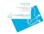 Business Card Design. Marbletrend. (2011)