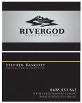 Business Card Design: RiverGod Productions. (2011)