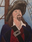 Captain Hector Barbossa - By N.Hayter