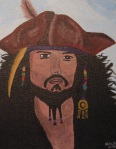 Captain Jack Sparrow - By N.Hayter