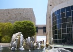 Getty Center: Museum Courtyard Fountains in front of the West Pavillion