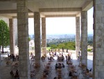 Getty Center: Garden Terrace Cafe and Dining Area