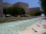 Getty Center: Museum Courtyard Fountains