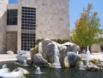 Getty Center: Museum Courtyard Fountains near East Pavillion