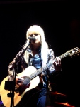 Orianthi Live in Sydney - Colour Acoustic Guitar