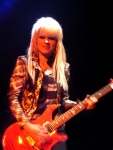 Orianthi Live in Sydney - Guitar High Contrast Colour