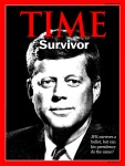 Time Magazine Cover: JFK survives assassination attempt
