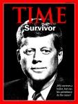 Time Magazine Cover: JFK survives assassination attempt