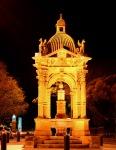 Sydney Vivid Light Festival - Frazer Fountain Cathedral Road Sydney