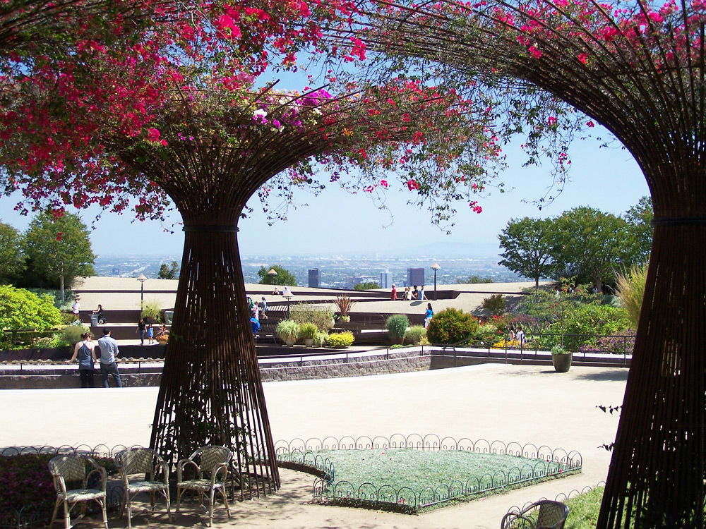 Images of Gardens of the J. Paul Getty Center & Museum ...