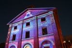Sydney Vivid Light Festival - Hyde Park Barracks Purple