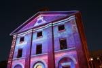 Sydney Vivid Light Festival - Hyde Park Barracks Purple