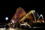 Sydney Vivid Light Festival - Sydney Opera House, Cheetah Print
