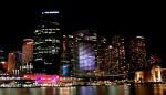 Sydney Vivid Light Festival - Sydney Skyline by Night