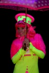 Sydney Vivid Light Festival - UV Light performer