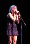 Susanna Hoffs of The Bangles Live in Sydney 2010. Photo:N.Hayter