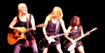 The Bangles: Debbi Peterson, Vicki Peterson, Susanna Hoffs. Photo: N.Hayter 2010.