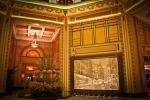 Shanghai Peace Hotel. Art Deco Interior. N.Hayter 2010.