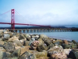Images from Californian Coastal Bike Rides Part 1 – San Francisco – Golden Gate Bridge – Sausalito