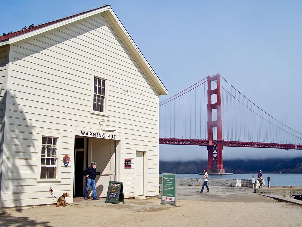 Warming Hut Cafe Marine Drive San Francisco Ca