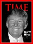 Donald Trump 2012 Presidential Winner. Time Magazine Cover Concept: N.Hayter 2011