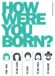 How Were You Born Street Poster - N.Hayter 2011