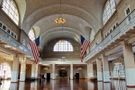 Ellis Island Immigration Hall NYC. N.Hayter 2012