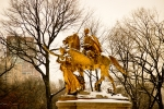 Sherman Statue Central Park NYC. N.Hayter 2012
