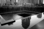 WTC South Tower Memorial NYC. N.Hayter 2012