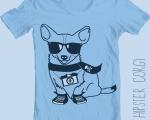 HipsterCorgiTeeShirt