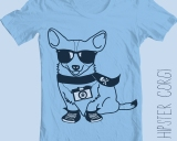 Hipster Corgi – New Tee Design