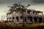 Abandoned House Nassau Bahamas. N.Hayter 2012.