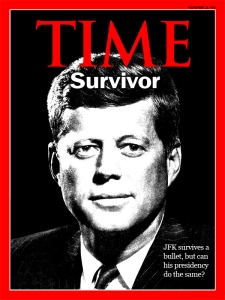 JFK survives 50th anniversary of assassination Time Magazine Cover