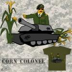 Corn Colonel Tee Design