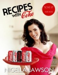 Design Parody - Nigella Lawson Cooking with Coke Cookbook Cover